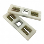 Spring Cassette Pair for uPVC Door Handles - Hole in Middle